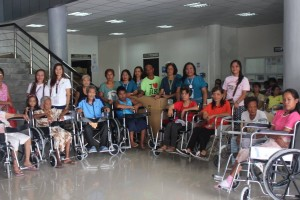 Wheelchair and Walker Distribution from DOH (April 17, 2017)  - Balaoan La Union (23)