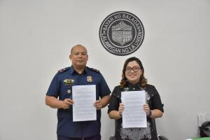Donation of Lot to PNP (August 7, 2019)