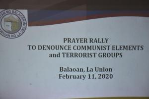 Inter-Faith Prayer Rally (February 11, 2020)